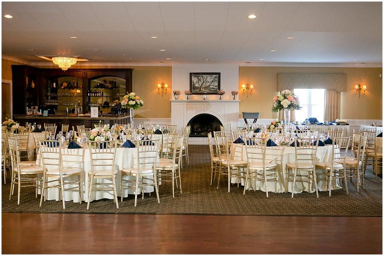 Penn Oaks Golf Club Reception Wedding